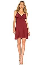 Bailey 44 Peppercorn Dress in Saffron Red