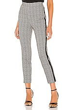 Bailey 44 Aubrey Plaid Pant in Black Multi