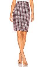 Bailey 44 Laissez Faire Boucle Skirt in Midnight Multi