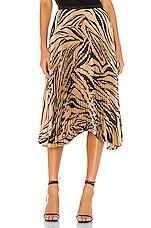 Bailey 44 Logan Skirt in Camel Multi