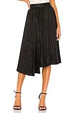 Bailey 44 Rothchild Pleated Skirt in Black Multi