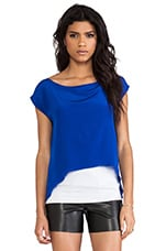 Mali Top in Blue