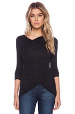 Full Moon & Empty Arms Top in Black