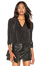 Bailey 44 Stealing Sparkle Top in Black