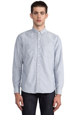 The William Button Down in Light Grey