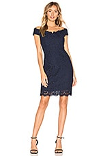 Bardot Tara Lace Dress in Twilight