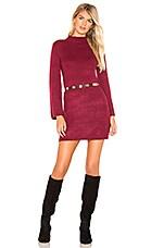 Bardot Tash Dress in Boysenberry