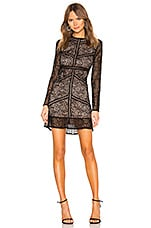 Bardot Sasha Lace Dress in Black