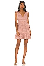 Bardot Roxie Dress in Dusty Pink