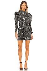 Bardot Constellation Dress in Constellation