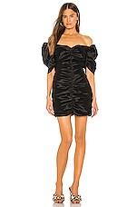 Bardot Issey Mini Dress in Black