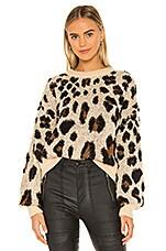 Bardot Leopard Slouch Knit in Leopard
