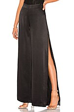 Bardot Split Pant in Black
