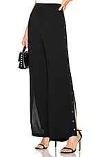 Bardot Snap Side Pant in Black