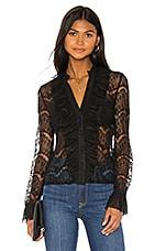 Bardot Meghan Lace Blouse in Black
