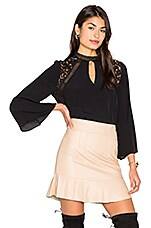 Phoebe Blouse in Black