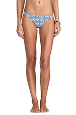 Zunzal Bungee Bottom in Grecian Flower & Baby Blue