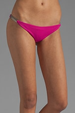 Tamri Reversible Bikini Bottom in Fuchsia/Mint