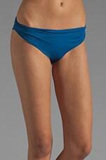 Tallows Reversible Bikini Bottom in Peacock/Fuchsia