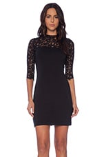 Chevis Dress in Black