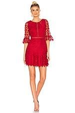 BB Dakota RSVP by BB Dakota In the Moment Dress in Scarlet Red