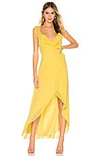 BB Dakota RSVP by BB Dakota Formation Maxi Dress in Citrus