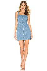 BB Dakota Overall Winner Dress in Light Blue