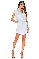 BB Dakota JACK by BB Dakota Chambray You Stay Dress in Washed Out Chambray