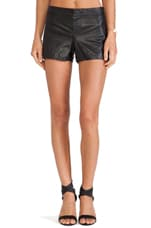 Thekla Leather Shorts in Black