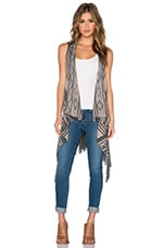Damen Vest in Wheat Beige