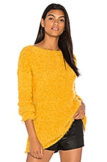 BB Dakota Debra Sweater in Royalty Yellow