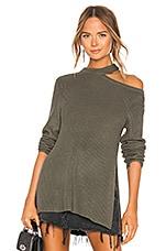 BB Dakota JACK by BB Dakota Dusk Til Dawn Sweater in Light Olive