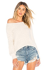 BB Dakota Shrug It Off Sweater in Oatmeal