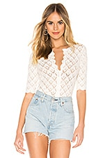 BB Dakota Summer In The City Cardigan in Ivory