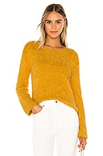 BB Dakota Get A Crew Sweater in Harvest Yellow