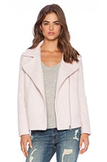 BB Dakota Emmett Moto Jacket in Powder Pink