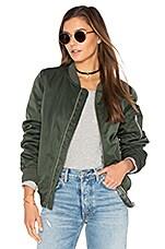 BB Dakota Atwood Jacket in Army Green