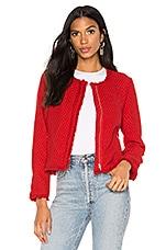 BB Dakota Feeling Fancy Jacket in Berry Red