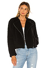 BB Dakota Jack By BB Dakota Country Roads Shearling Jacket in Black