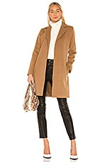 BB Dakota Jack By BB Dakota Keep Your Secrets Wrap Coat in Camel