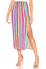 BB Dakota Outside The Lines Skirt in Rainbow Sorbet