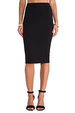 South Ponte Pencil Skirt in Black