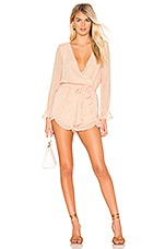 BB Dakota Chiffon My Mind Romper in Pink Lemonade