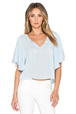 Sinclair Top en Sunbleached Blue