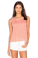 Jack By BB Dakota Halen Top en Corail Vif