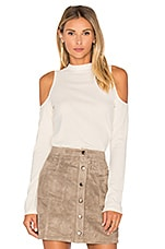 BB Dakota Jack By BB Dakota Callister Faux Suede Mini Skirt in ...