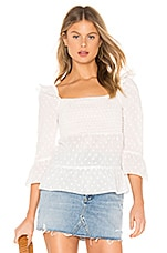 BB Dakota Pay Attention Top in Ivory