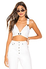 BB Dakota X REVOLVE Meet Me In VIP Top in White