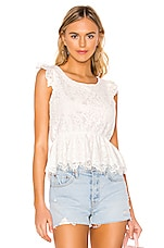 BB Dakota At First Sight Top in Ivory