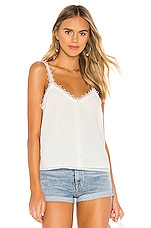 BB Dakota Forget Me Knot Tank in Ivory
